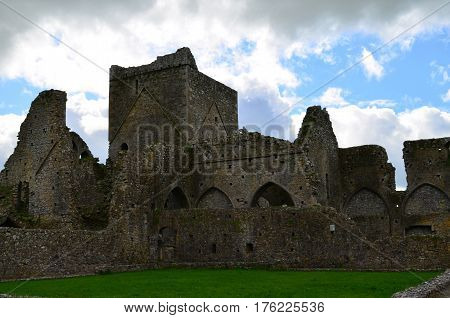 Ruins of an old Abbey in Ireland.