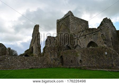 Ruins of Hore Abbey in County Tipperaray Ireland.