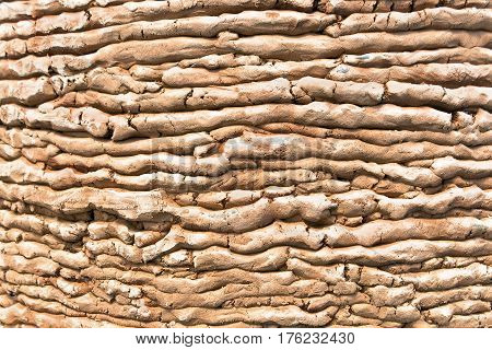 Clay texture pattern structure as a background