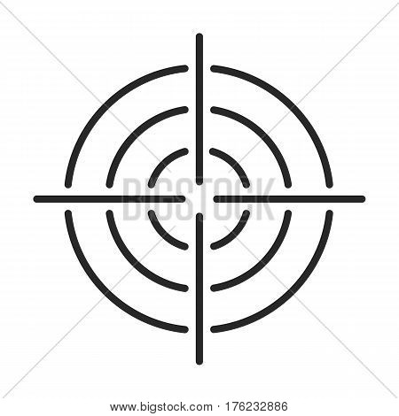 Aim Vector Icon