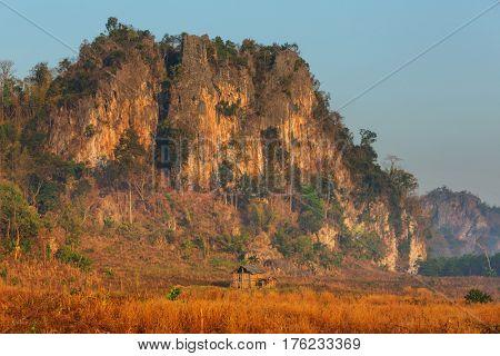 Rural landscapes in Northern Thailand