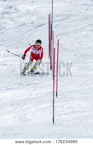 Jose Soares During The Ski National Championships