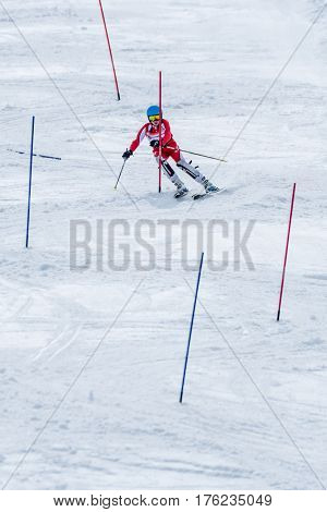 Lourenco Simoes During The Ski National Championships