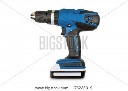 Blue Color Cordless Combi Drill