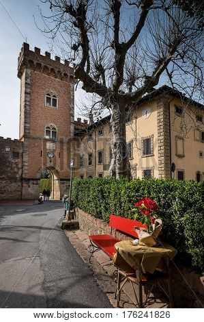 Bolgheri, Leghorn, Tuscany - The Small Village And Medieval Architecture, Italy