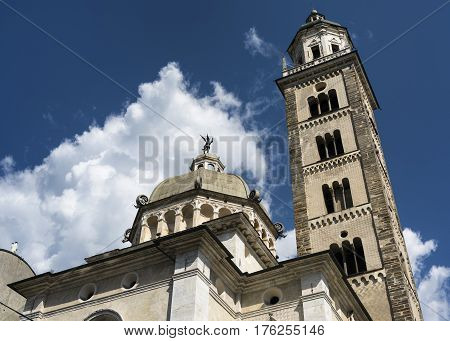 Tirano (Sondrio Lombardy Italy) the historic church known as Sanctuary