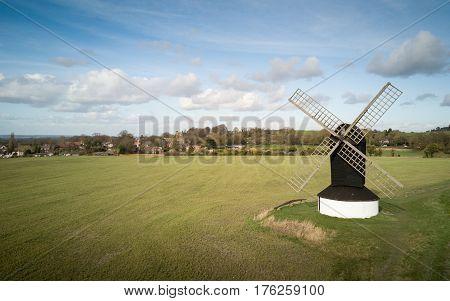 Pitstone Windmill, Ivinghoe, Buckinghamshire, England