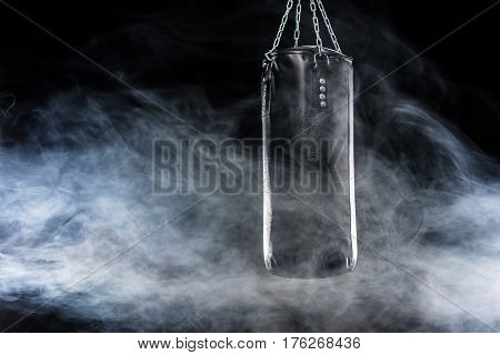 Black Punching Bag