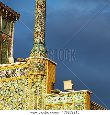 In Iran  Blur  Islamic Mausoleum