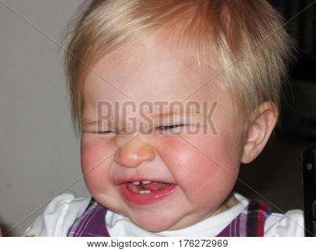 girl, baby girl, funny face, funny baby face, baby face, baby laughing