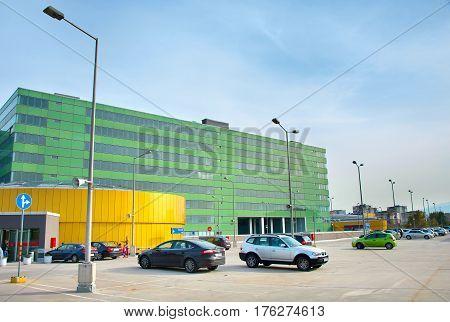 Shopping Mall Car Parking