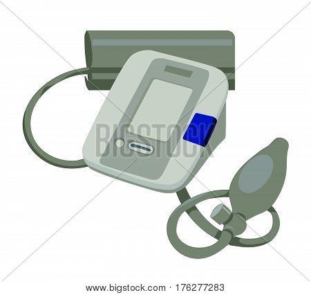 Gray medical tonometer for measurement blood pressure
