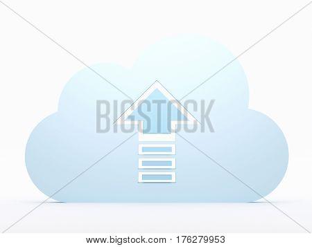 Cloud Computing, Uploading