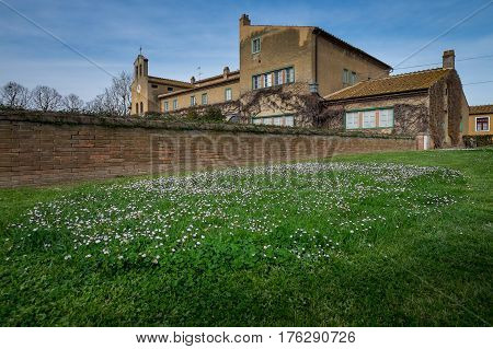 Bolgheri, Leghorn - View Of San Guido, Tuscany, Italy