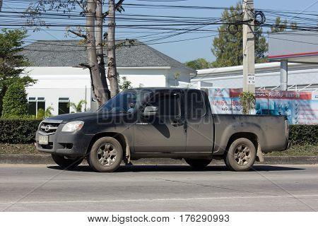 Private Mazda Pickup Truck.