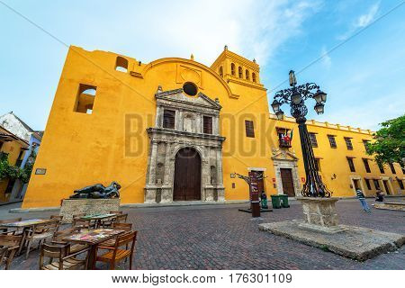 Santo Domingo Church And Plaza