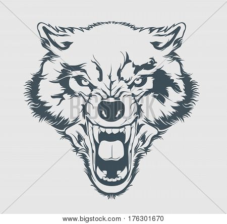 Wolf Head Images Illustrations Vectors Wolf Head Stock Photos Amp Images Bigstock