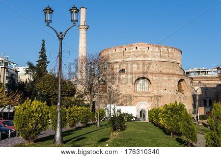 The Rotunda 4Th-century Monument In The City Of Thessaloniki