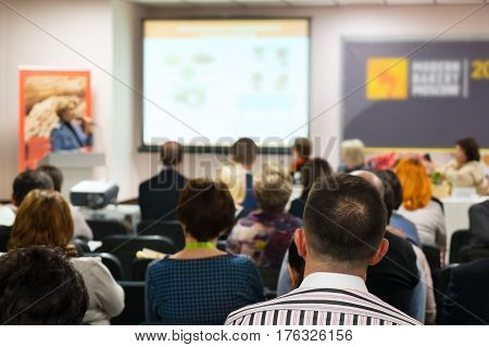 Meeting  presentation Room Business Meeting Leadership Concept