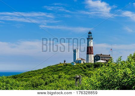 Montauk Point Lighthouse Long Island New York