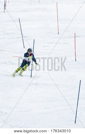 Michael Braun During The Ski National Championships
