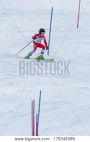 Gustavo Tavares During The Ski National Championships