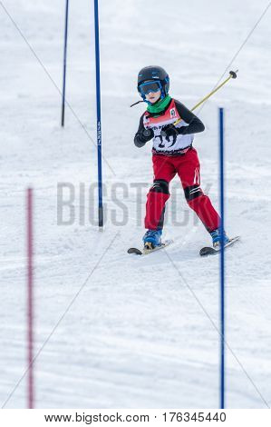 Gustavo Silva During The Ski National Championships