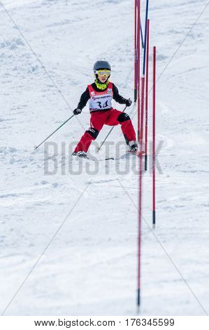 Marcelo Vicente During The Ski National Championships