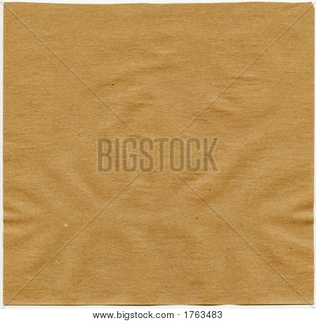 A Sheet Of Blank Craft Paper