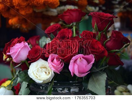 The symbolism of rose colors is steeped in tradition. Roses inspired people over thousands of years to develop a language of color. When you choose a color variety or number of roses for someone you are personalizing your gift with deeper sentiment.