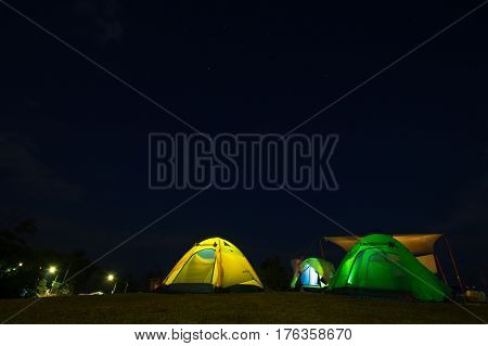 tent, night, camping, moon, sky, camp, landscape, nature, mountain, outdoor, travel, adventure, light, illuminated, evening, background, wilderness, summer, hiking, extreme, tourism, dusk, forest, yellow, stars