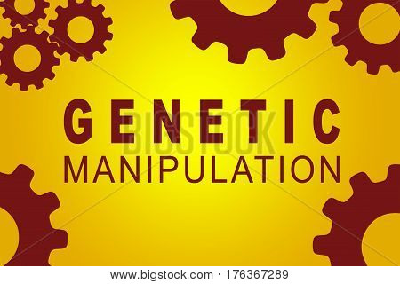 Genetic Manipulation Concept