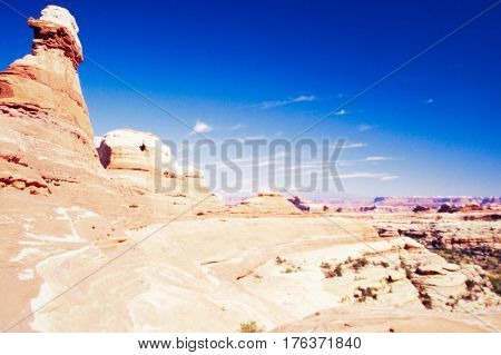 Needles District Canyonlands National Park Utah Us