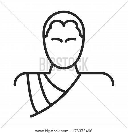 Monk Vector Icon