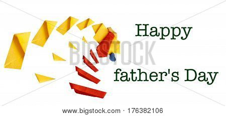 Brochure Of Card For A  Father's Day
