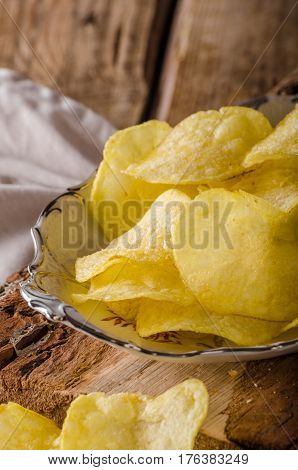 Potato Chips Product Photography