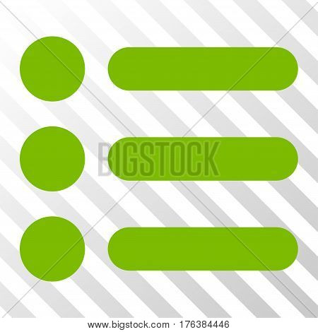 Items vector pictograph. Illustration style is a flat iconic eco green symbol on a transparent background.