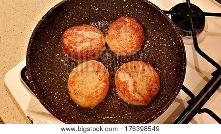 Delicious Cutlets From Cauliflower