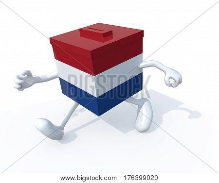 Dutch Election Ballot Box