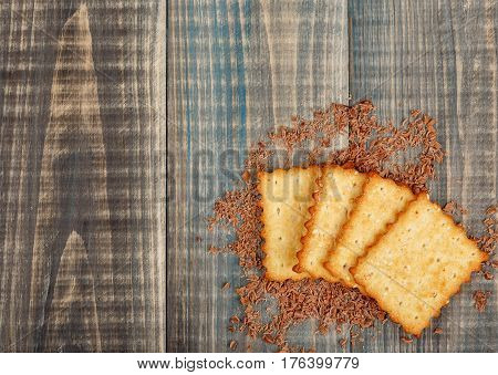 Crackers With Sugar And Sesame