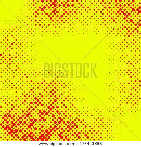 Irregular Halftone Pop Art, Polka Dot Pattern