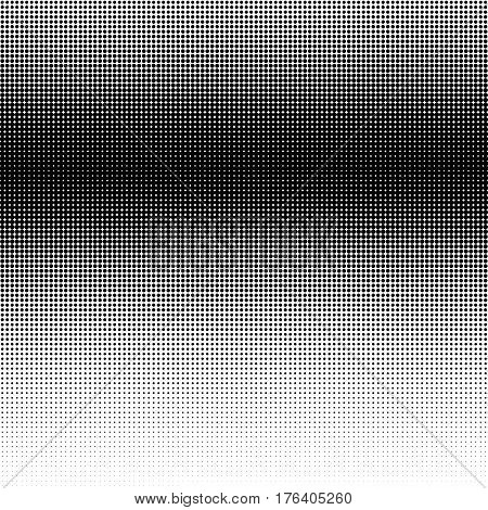 Halftone Gradation / Gradient Pattern, Abstract Geometric Pointillist Texture