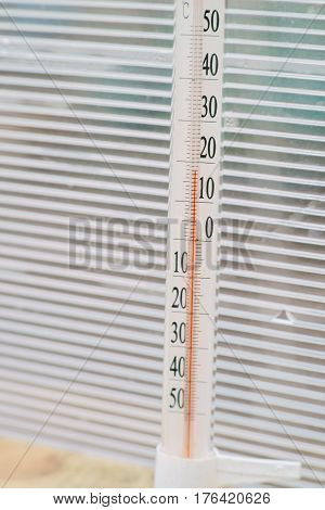 The Temperature In The Greenhouse Is 18 Degrees Celsius