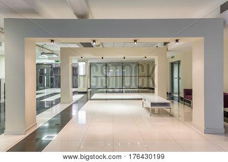 Minimalist Hallway In Bright Tones