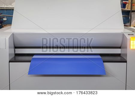 Thermal digital plate on the CTP in the printing house