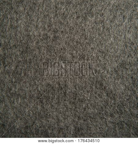 gray felt texture for background. macro photo