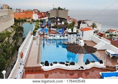 Tenerife Roof Top Pool
