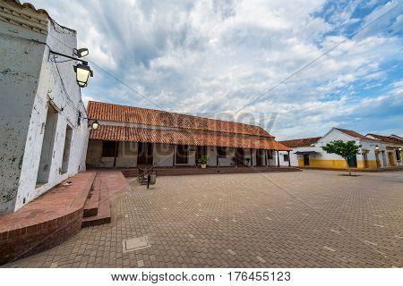 Small Plaza In Mompox