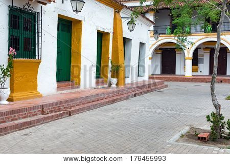 Colonial Architecture In Mompox, Colombia