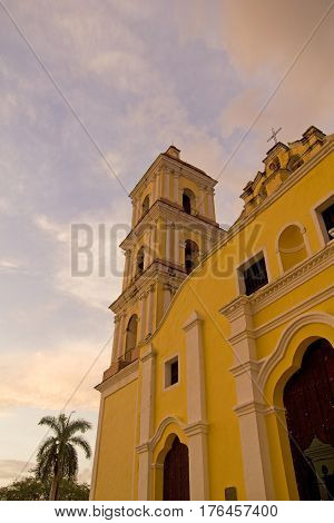 Iglesia Mayor In Remedios, Cuba